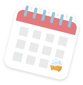 Календарь купания новорожденного